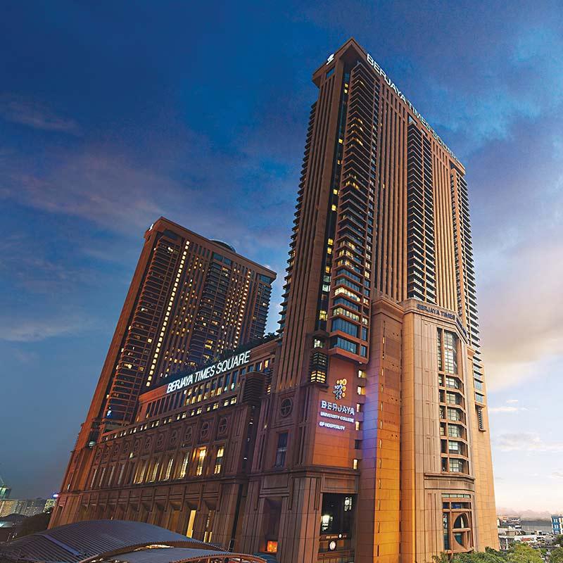 5 Star Hotels in Kuala Lumpur | Berjaya Times Square