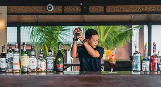 Beach Bar Berjaya Tioman Resort
