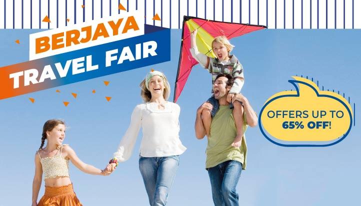 Berjaya Travel Fair Up to 65% off
