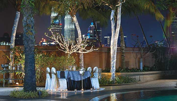 Candlelight Dinner By The Pool At Berjaya Times Square Hotel