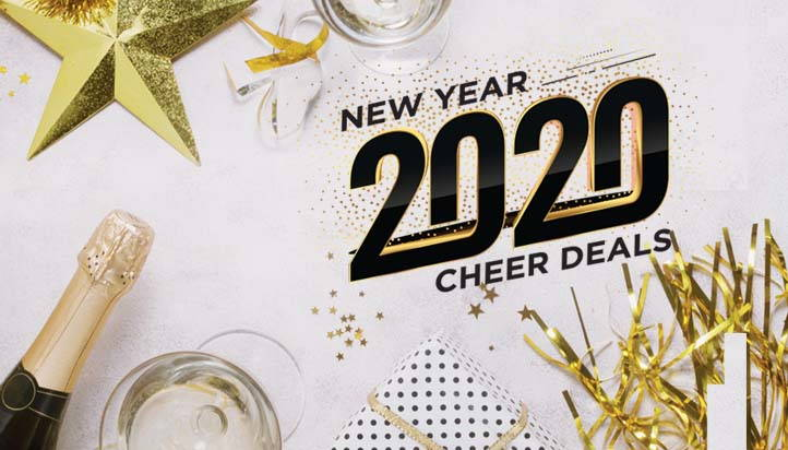 NEW YEAR 2020 CHEER DEALS