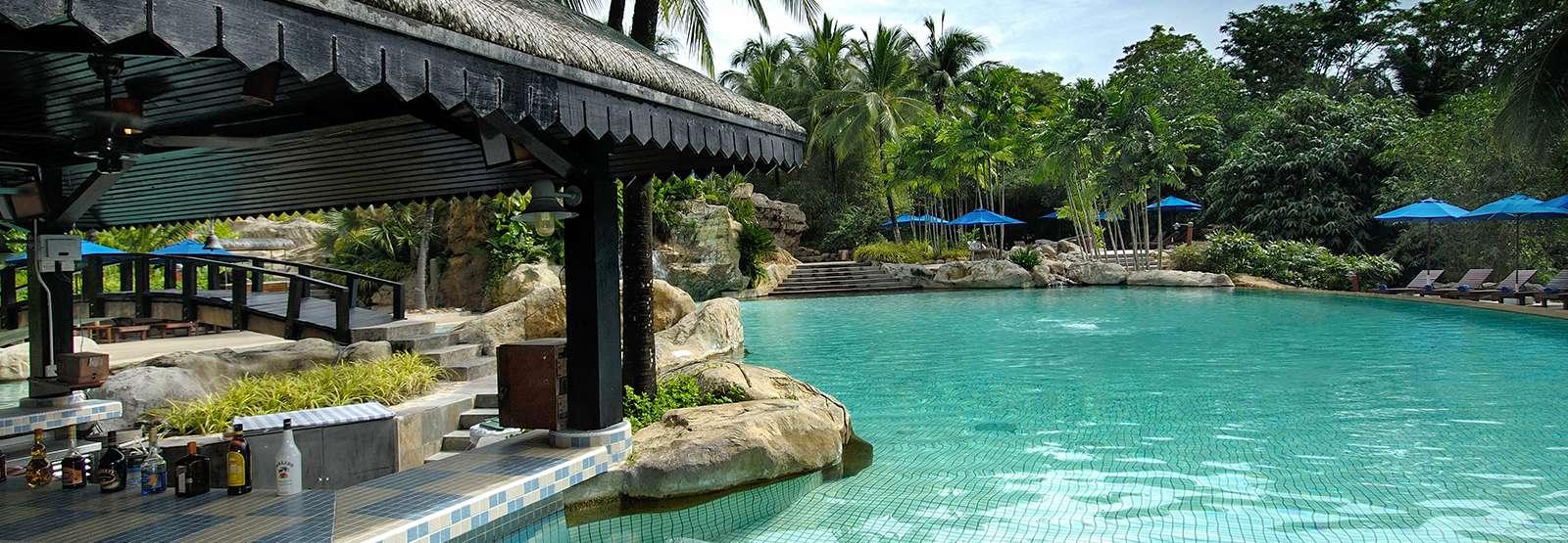 Restaurants Langkawi Sunken Pool Bar Berjaya Langkawi