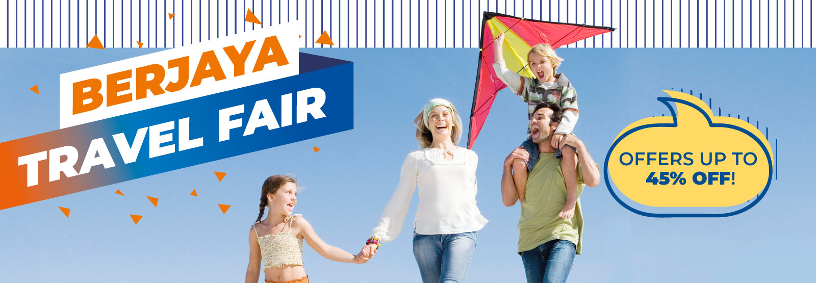 Berjaya Travel Fair Up to 45% off