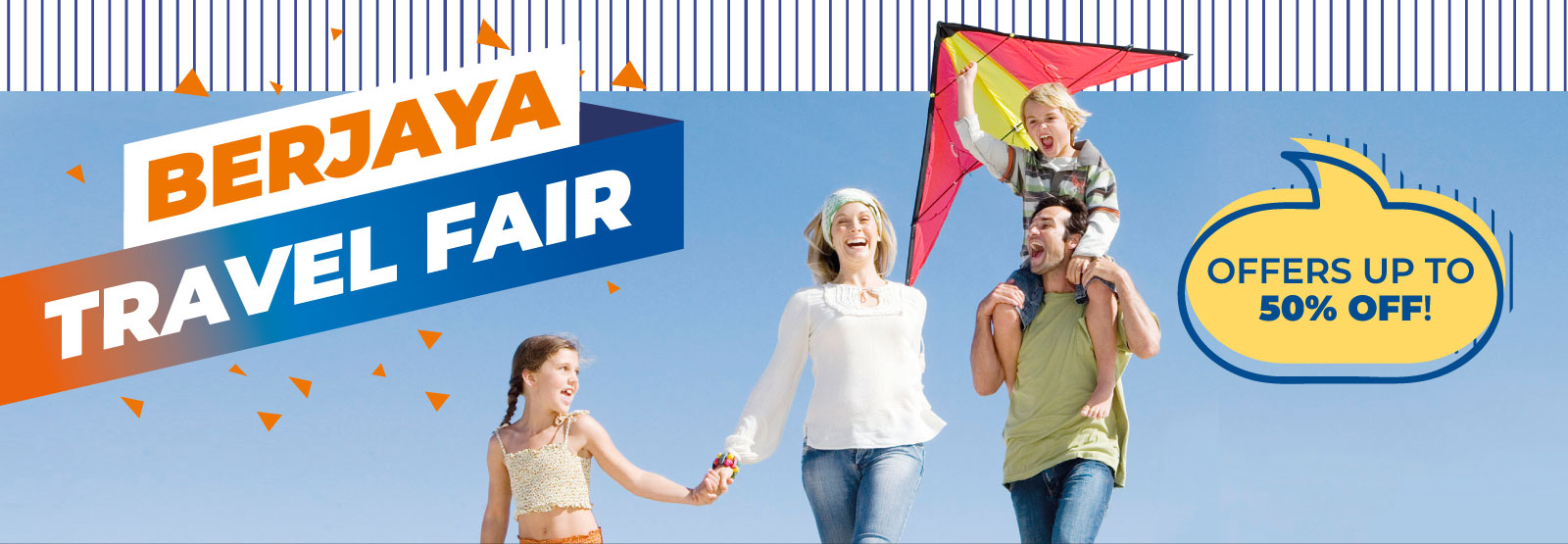 Berjaya Travel Fair Up to 50% off