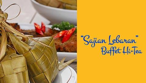 Sajian Lebaran Buffet Hi-Tea