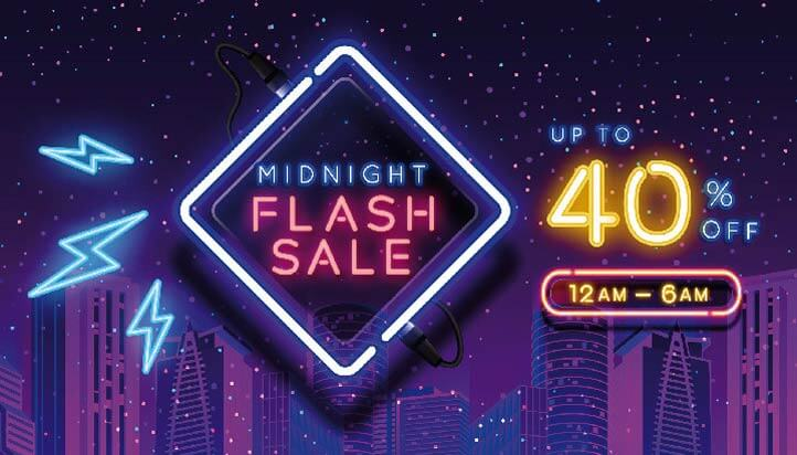 Midnight Flash Sale