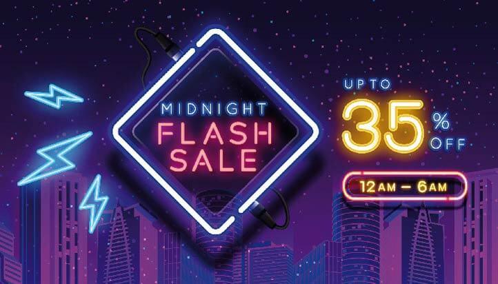 Midnight Flash Sale
