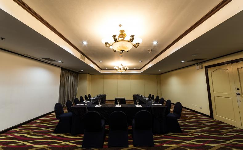 Meeting Room U-Shape Setup