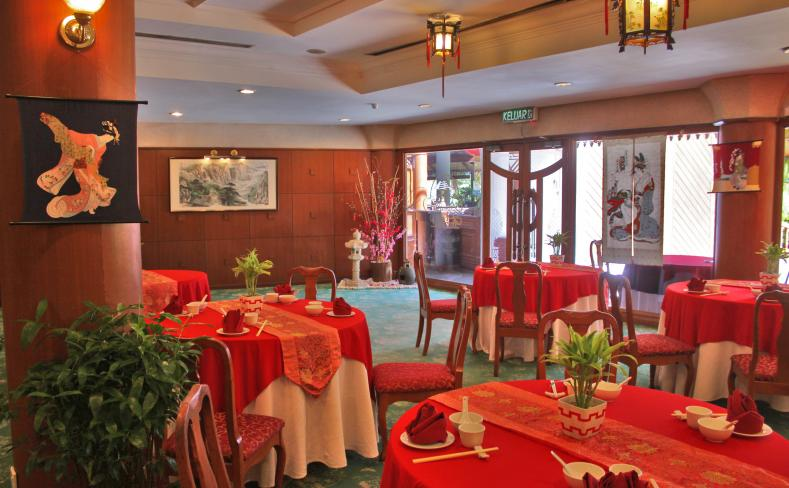 Oriental Pearl Restaurant - Dining Area Entrance