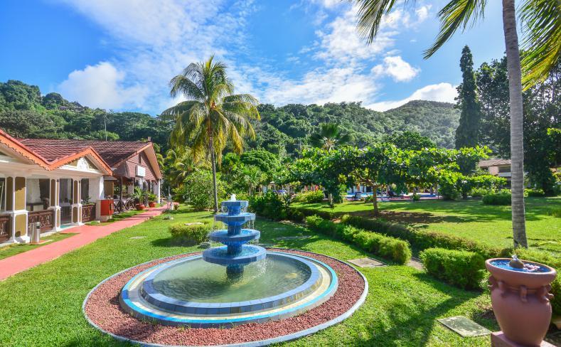 Resort Entrance Fountain
