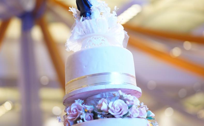 Wedding cake at Berjaya Times Square Hotel