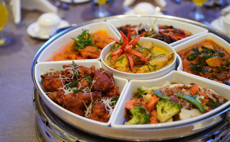 Wedding food at Berjaya Times Square Hotel
