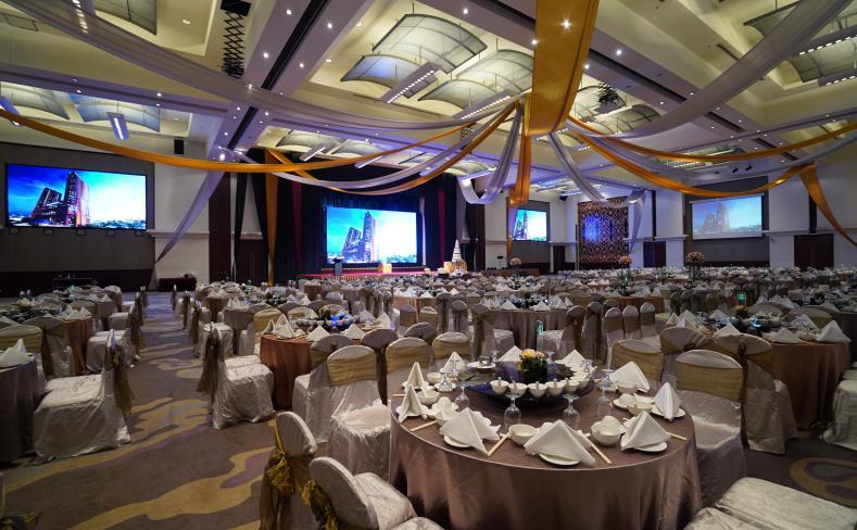 Wedding hall at Berjaya Times Square Hotel