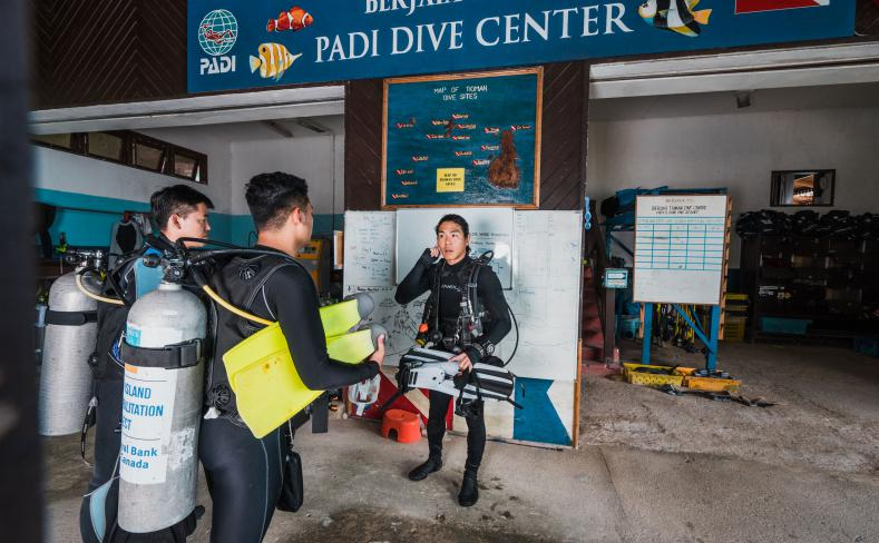Recreation - PADI Dive Centre