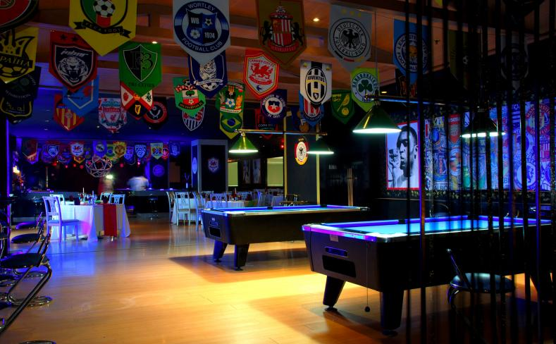 Photo gallery berjaya hotel berjaya waterfront hotel johor bahru the club sports bar and lounge pool table area watchthetrailerfo
