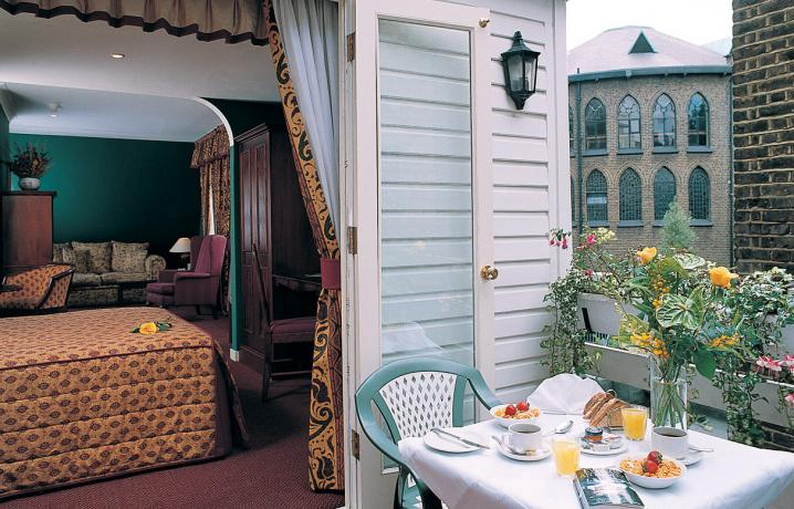 Eden Suite - Balcony