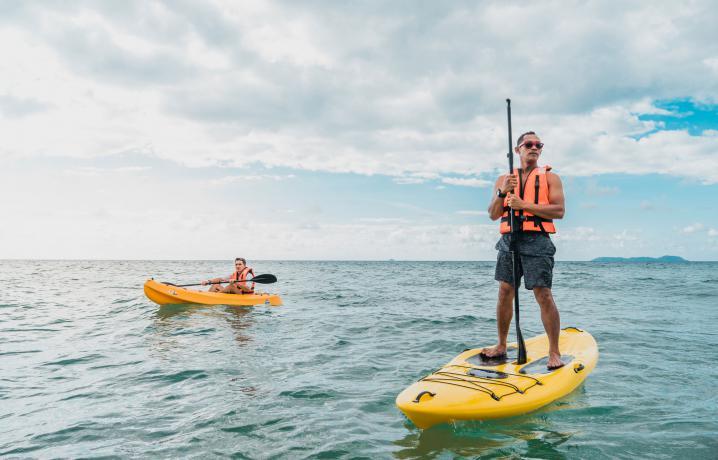 Recreation - kayakking
