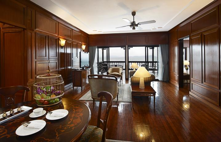 Two Bedroom Suite on Water - Living Hall Interior