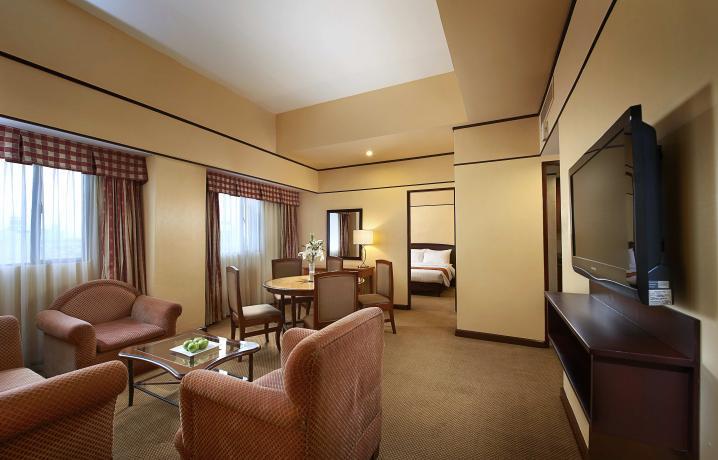 Two Bedroom Deluxe - Living Room