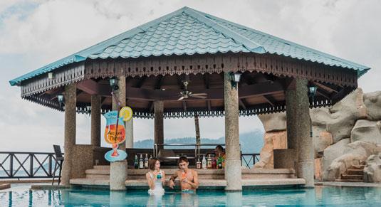Sunken Pool Bar Berjaya Tioman Resort