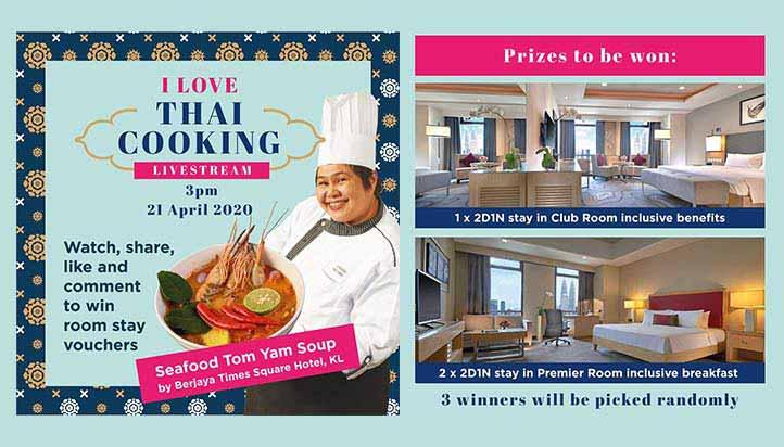 I love Thai Cooking - Livestream