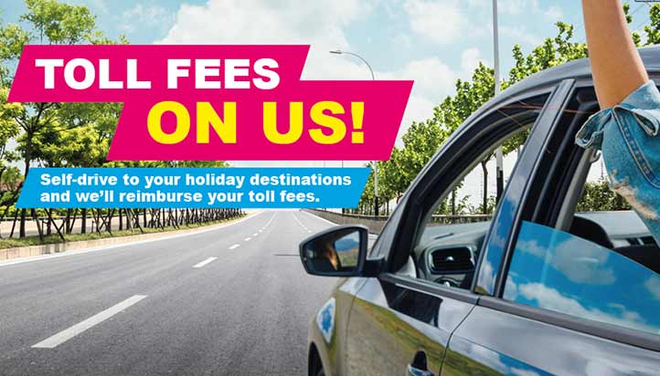 SELF DRIVE & TOLL FEES ON US