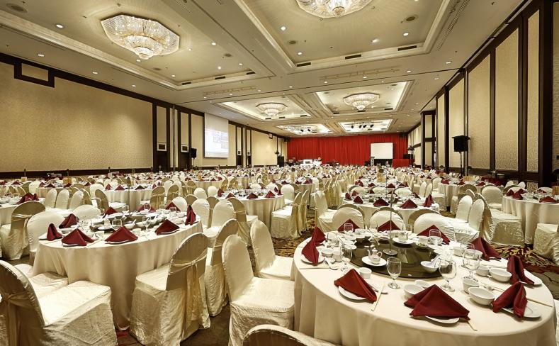 Dewan Berjaya - Banquet Setup Overall View