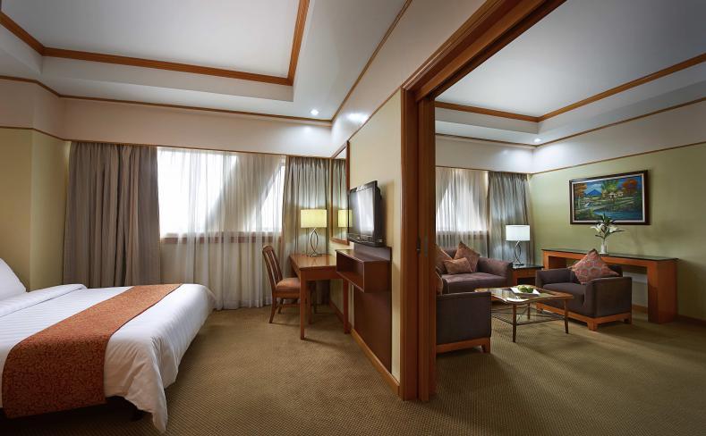 Deluxe Studio Room - Bedroom and Living Area Interior