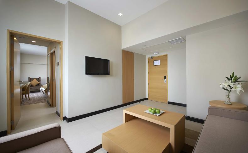 Premiere Studio - Living Area Entrance