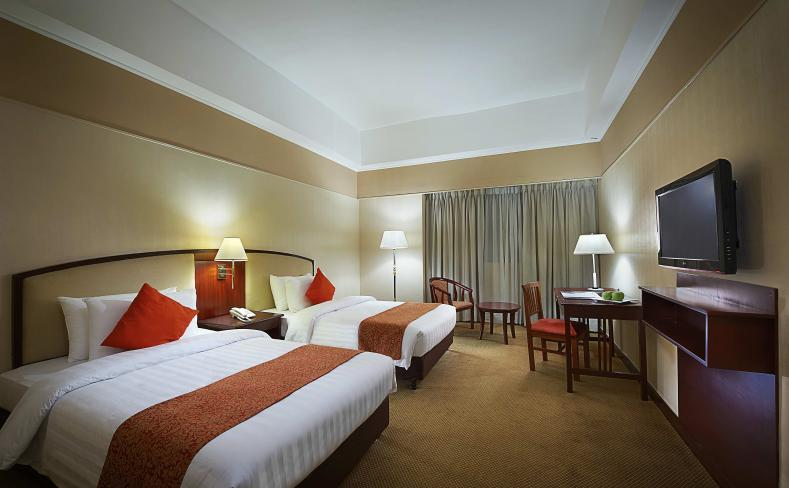 Deluxe Room - Twin Bed Bed Entrance View
