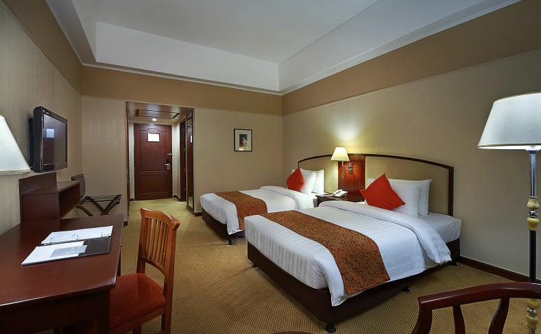 Deluxe Room - Twin Bed Window View